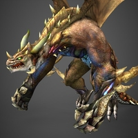 Fantasy Dragon Sintara 3D Model