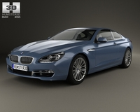 BMW 6 Series (F13) Coupe 2012 3D Model