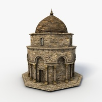 Small Mosque 3D Model