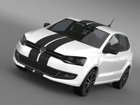Volkswagen Polo Worthersee 3D Model