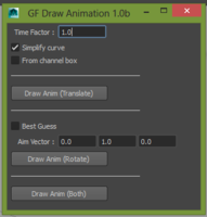 Free Draw Animation for Maya 2.1.1 (maya script)