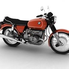 BMW R90/6 1974 3D Model