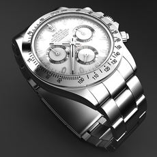 Rolex Daytona Mens Watch 3D Model