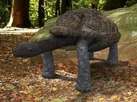 Giant Tortoise 3D Model