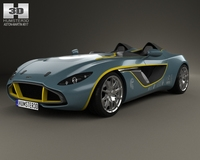 Aston Martin CC100 Speedster 2013 3D Model