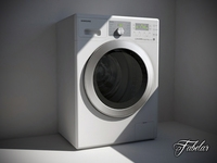 Washing machine 02 3D Model