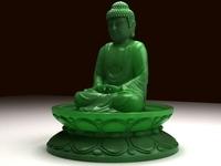 Buddha 3D Model