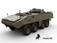 Mowag Piranha III C 3D Model