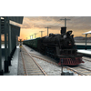Train and Railway Station 3D Model