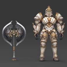 Fantasy Character King Aaliza 3D Model