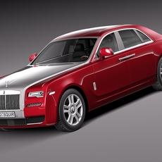 Rolls-Royce Ghost Series II 2015 3D Model