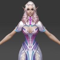 Princess Matarina 3D Model