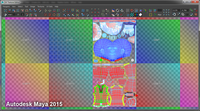 UV Texture Editor Tools Ur-edition for Maya 2.1.2 (maya script)