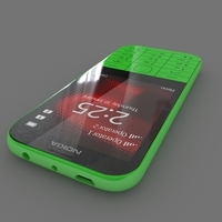Nokia 225 Dual Sim 3D Model