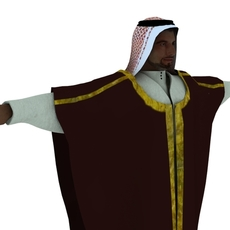 Arab Rig  for Maya with Ncloth simulation 0.0.1 for Maya