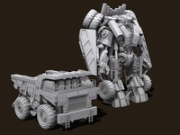 Transformers Devastator Long Haul 3D Model