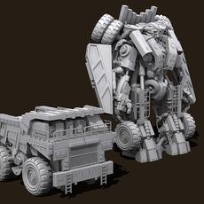 Transformers Devastator Long Haul 3D Model