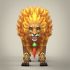 12 16 08 931 fantasy warrior lion 03 4