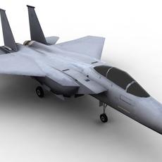 F15 McDonnell Douglas FOR GAMES 3D Model