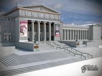 Building 07 Field Museum 3D Model