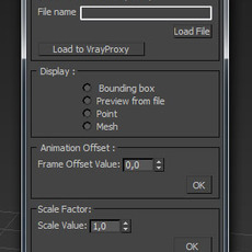 AS VrayProxy Tool for 3dsmax 0.5.0 (3dsmax script)