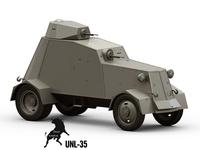 UNL-35 3D Model