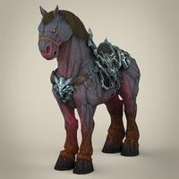Fantasy Horse 3D Model