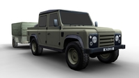 Land Rover FOR GAMES 3D Model