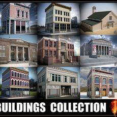 Buildings collection 1 3D Model