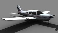 Piper Arrow FOR GAMES 3D Model