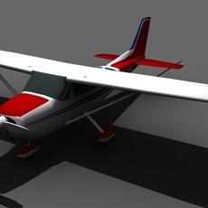 Cessna 172 FOR GAMES 3D Model