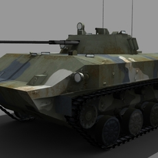 BMD-3 FOR GAMES 3D Model