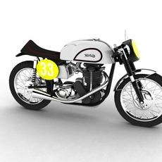 Norton Manx 1954 3D Model