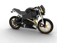 Buell XB12S Lightning 2010 3D Model