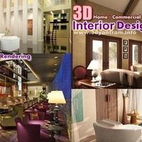 3d home commercial interior design cover
