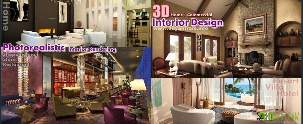 3d home commercial interior design show