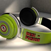 Desifusion headphones green4mb cover