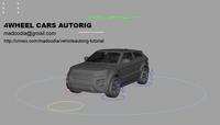 Car Autorig (4Wheel-For VFX) for Maya 1.1.3 (maya plugin)