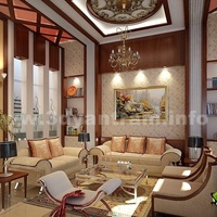 3d interior rendering classic design cover