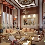 3d interior rendering classic design small