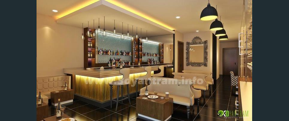 3d bar interior design usa show