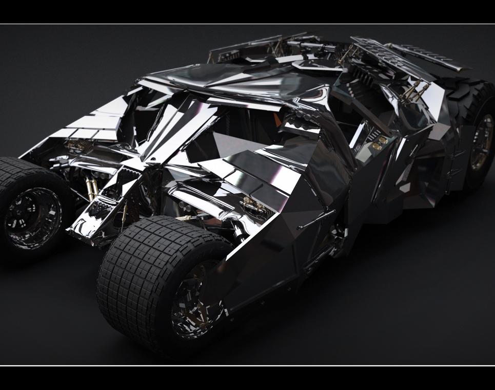Batmobil show