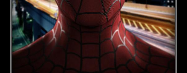 Spiderman wide