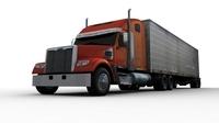 Truck FOR GAMES 3D Model