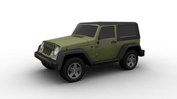 Jeep FOR GAMES 3D Model
