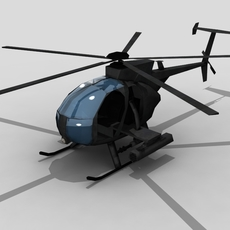 MH6 FOR GAMES 3D Model