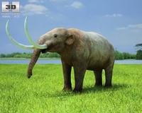 Mastodon (Mammut Americanum) 3D Model