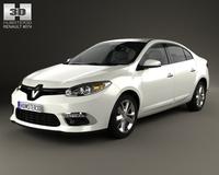 Renault Fluence 2012 3D Model