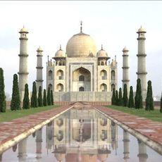 Taj Mahal Palace 3D Model