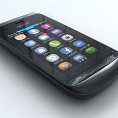 Nokia Asha 309 3D Model